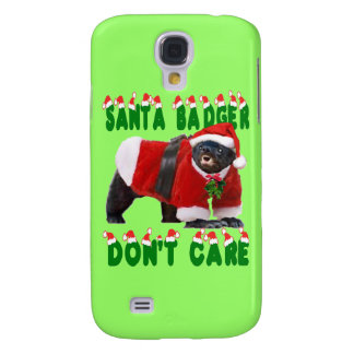 Santa Honey Badger Don t Care Samsung Galaxy S4 Case