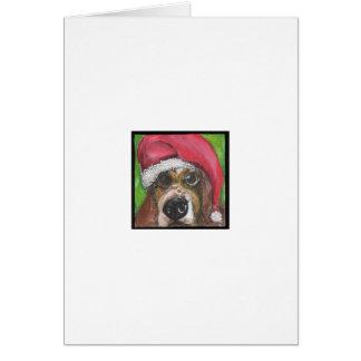 Santa Hound Card
