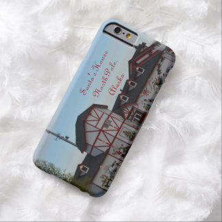 Santa House North Pole Alaska Christmas American Barely There iPhone 6 Case