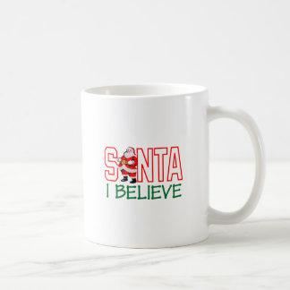 Santa I cree Taza Básica Blanca