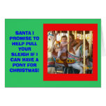 SANTA I PROMISE CARD