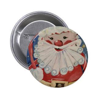Santa Illustration Button