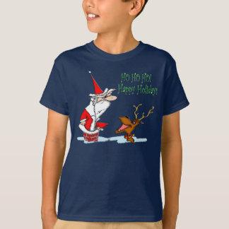 Santa in Chimney T-Shirt