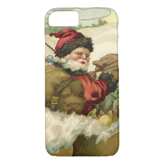 Santa in his Sleigh iPhone 7 Case