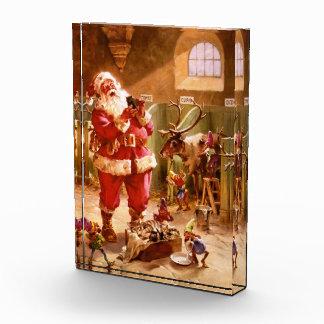 Santa in the Reindeer Barn Award