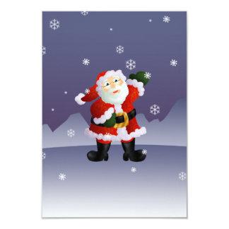 """Santa Invitación 3.5"""" X 5"""""""