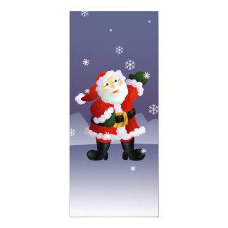 """Santa Invitación 4"""" X 9.25"""""""