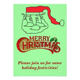 Santa Custom Invitation