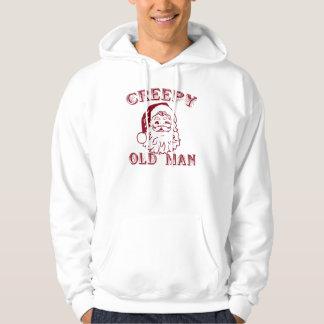 Santa is a creepy old man hoodie