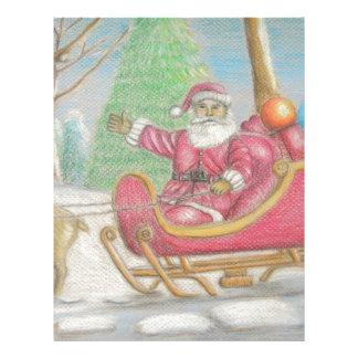 Santa is coming letterhead