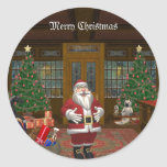 santa is coming stickers