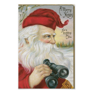Santa is Looking for You! Poster