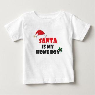 Santa is my home boy Christmas attire Baby T-Shirt