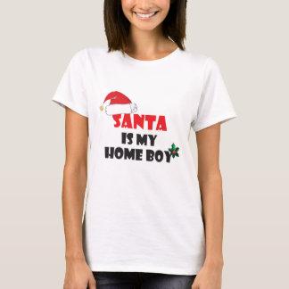Santa is my home boy Christmas attire T-Shirt