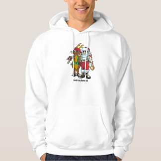 Santa is my homeboy T shirt