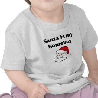 Santa Is My Homeboy Shirts