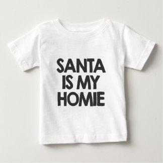 Santa is my homie tee shirt