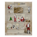 Santa is Odin Posters