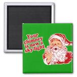 Santa Is Such A Fatty Fridge Magnet