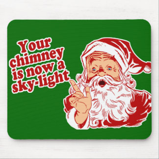 Santa Is Such A Fatty Mouse Pad