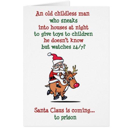 Santa is Watching Card