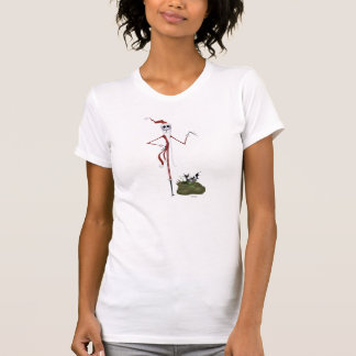 Santa Jack Skellington Camiseta