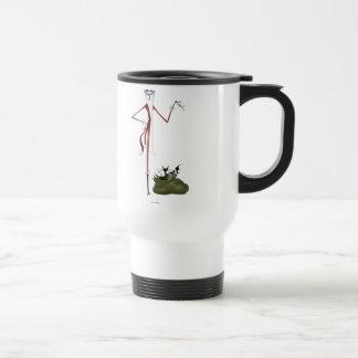 Santa Jack Skellington 15 Oz Stainless Steel Travel Mug