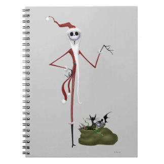 Santa Jack Skellington Note Book