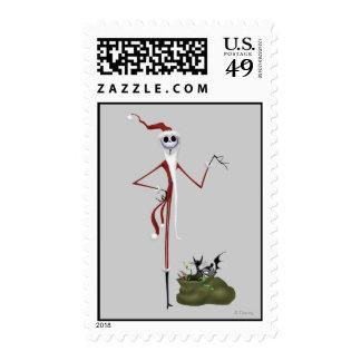 Santa Jack Skellington Postage