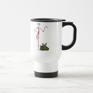Santa Jack Skellington Travel Mug