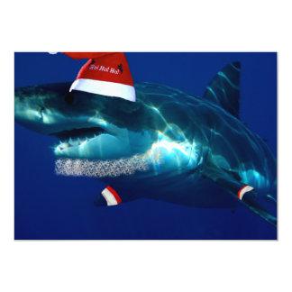 Santa Jaws Card