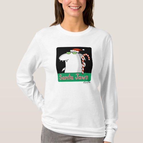 Santa Jaws T_Shirt