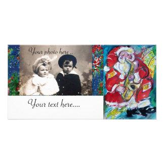 SANTA & JAZZ PHOTO CARD