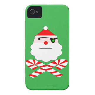 santa jolly roger Case-Mate iPhone 4 cases