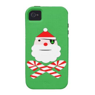 santa jolly roger vibe iPhone 4 cover