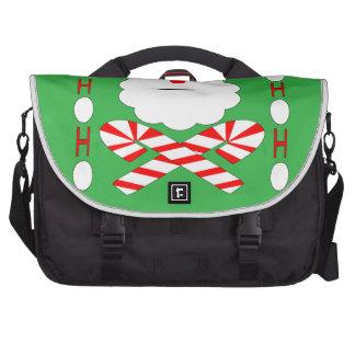 santa jolly roger laptop commuter bag
