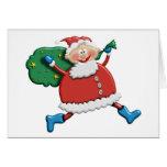 Santa Joy Design Card