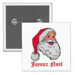 Santa Joyeux Noel Pin