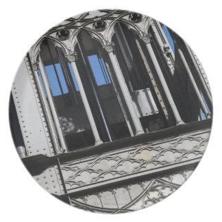 Santa Justa lift Melamine Plate