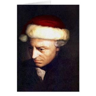 Santa-Kant card blank