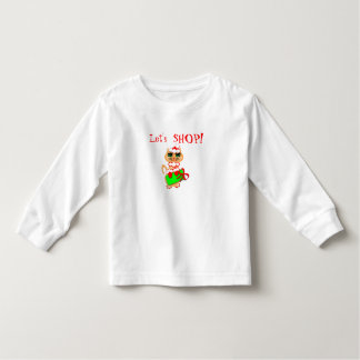 Santa Kitty Design Girls Tshirt