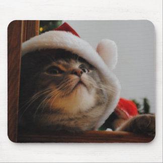 Santa Kitty Mousepad