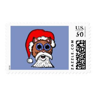 Santa Kitty Postage