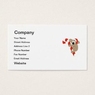 Santa Koala Business Card