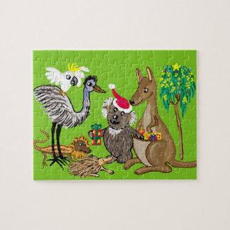Santa koala puzzle