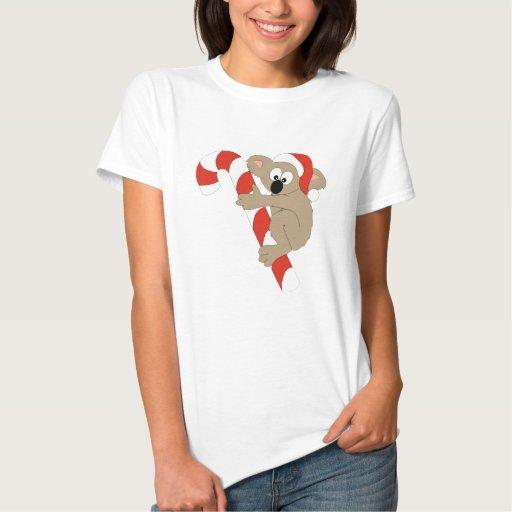 Santa Koala T Shirts