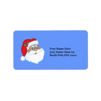 Santa label address label