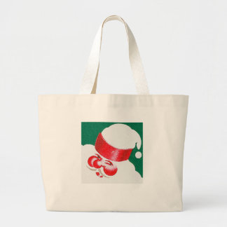 Santa Large Tote Bag
