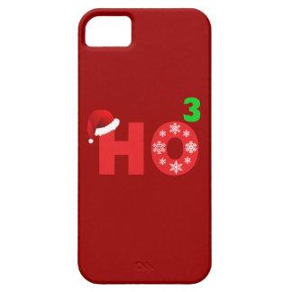 santa laughs at christmas iPhone 5 case
