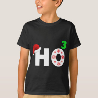 santa laughs at christmas T-Shirt